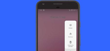 En Android P puedes añadir una opción para bloquear tu teléfono desde el menú de apagado