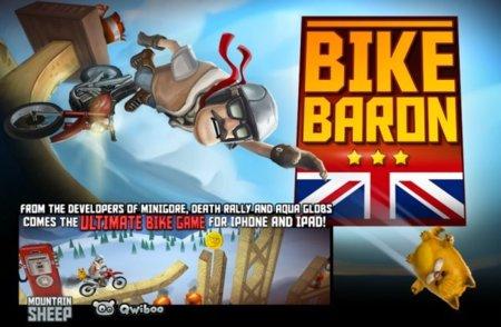 Bike Baron, el juego de motos de trial definitivo próximamente o eso dicen