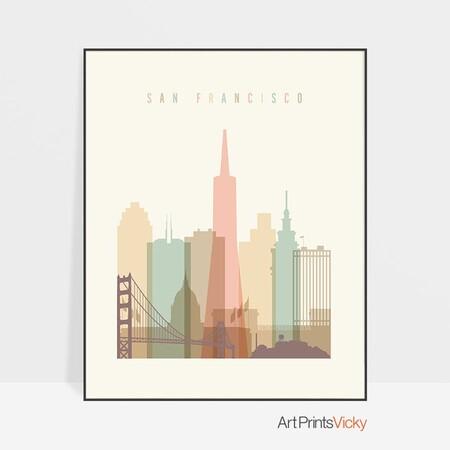 Lámina de San Francisco