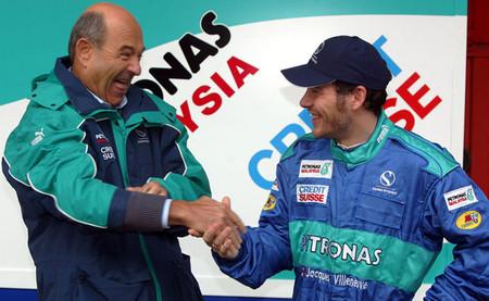 Jacques Villeneuve recomienda a Sauber que piense en Rubens Barrichello para 2014