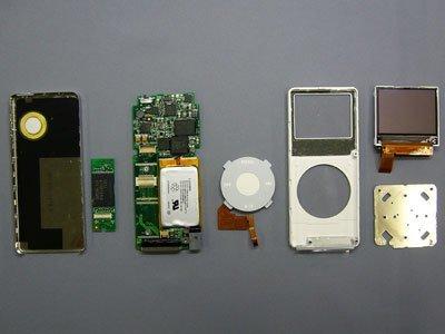 iPod nano por dentro