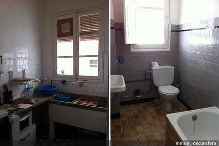 Proyecto minue - casa nueva - baño y cocina