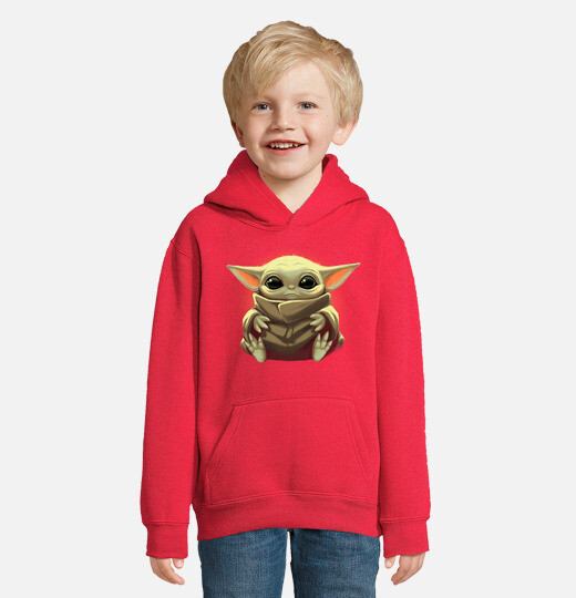 Sudadera para niños con capucha The Kid