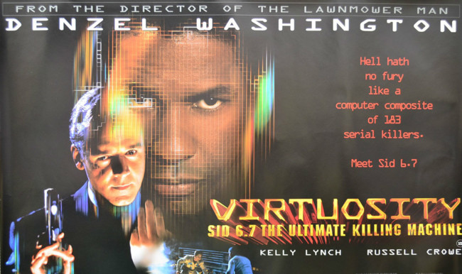 Ciencia-ficción: 'Virtuosity', de Brett Leonard