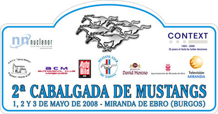 2ª Cabalgada de Mustang, Miranda de Ebro