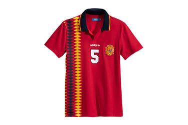 Camisetas de fútbol retro Adidas Originals para lucir esta Eurocopa 2012