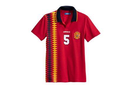 Santuario Diacrítico Mezclado  Camisetas de fútbol retro Adidas Originals para lucir esta Eurocopa 2012