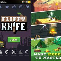 Flippy Knife: el simulador de lanzamiento de cuchillos que sigue los pasos de Flappy Bird y Angry Birds