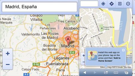 Google Maps en iOS 6