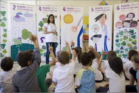 'Los niños están cerca de la integración': campaña por la normalización de las enfermedades raras en los colegios