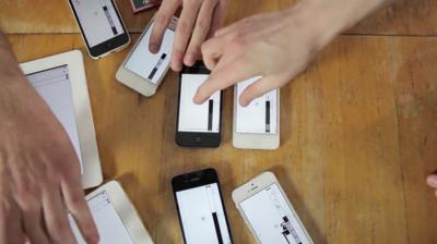 Una bonita historia de amor contada a través de dispositivos Apple