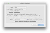 Codifica vídeo directamente desde el Finder de OS X Mountain Lion
