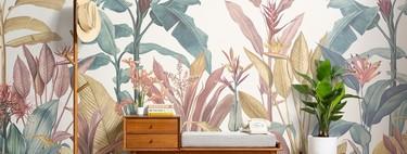 MuralsWallpaper lanza una nueva (y tropical) colección de papeles pintados de aire vintage