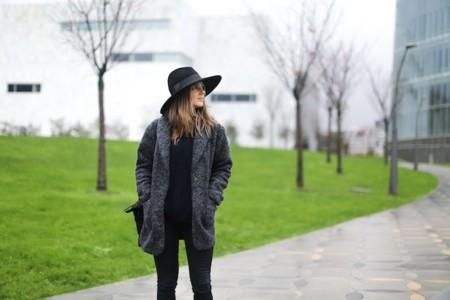 Clochet Streetstyle Mango Jacket Fedora Hat Kitten Heels 4