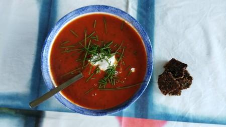 Cinco tapas con sopas frías para un picoteo del finde refrescante