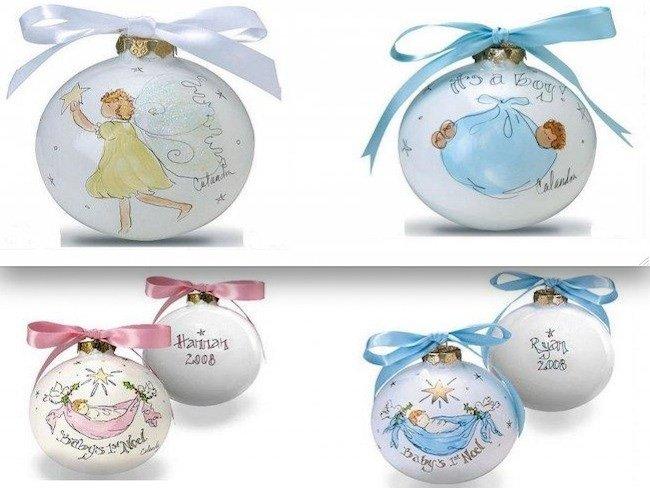 Adornos personalizados para el rbol de navidad - Bolas de cristal personalizadas ...