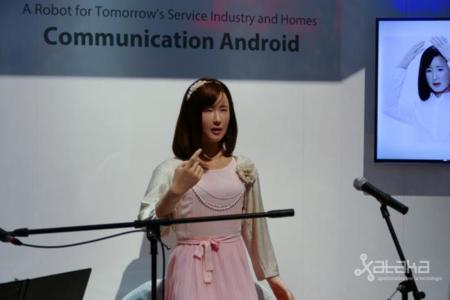 Toshiba se trae al CES un geminoide inquietante y un espejo probador