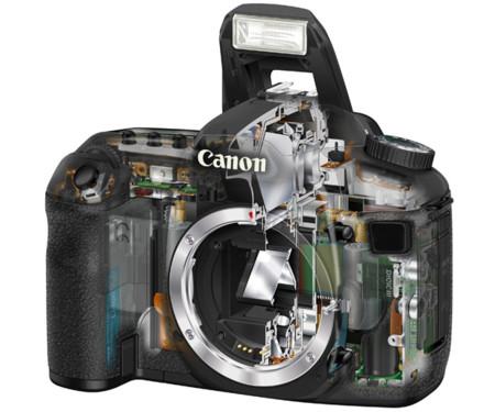 Canon también cree en los espejos semitransparentes: una de sus patentes lo demuestra