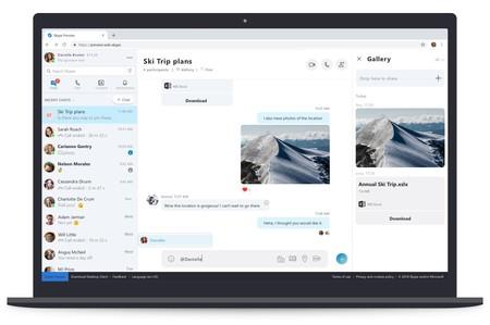 Ya puedes probar el nuevo Skype para la web con diseño renovado y funciones adicionales