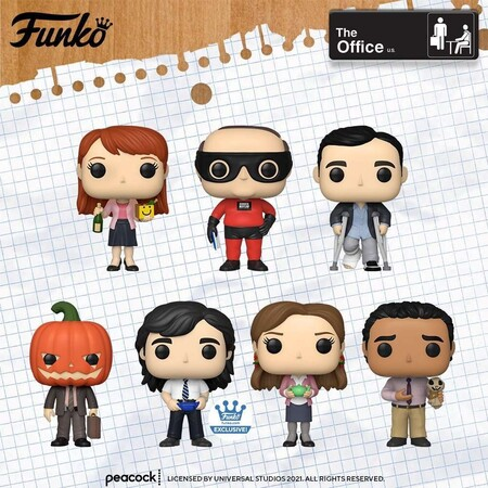 Figuras Funko POP de The Office en Amazon México