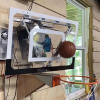 La canasta de baloncesto en la que es (casi) imposible fallar: física, robótica y mucho ingenio