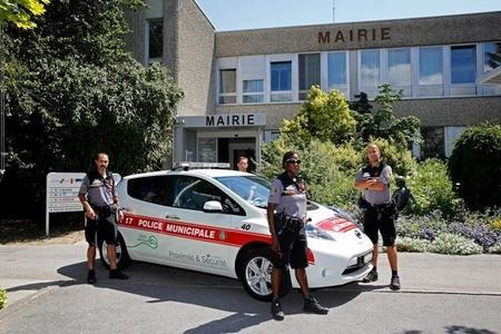 La policía en Suiza también patrullará con un Nissan LEAF