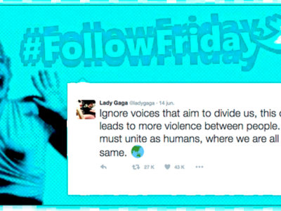 #FollowFriday de Poprosa: rupturas, amores y Lady Gaga