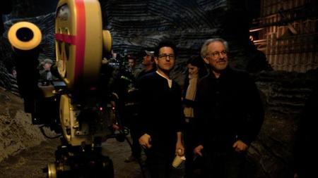 Abrams y Steven Spielberg