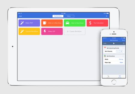 Workflow 1.5 para iOS, estas son las novedades de la app más versátil de la App Store