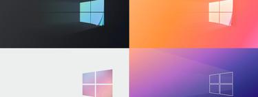 62 variaciones del fondo de pantalla de Windows 10, porque el original es el más aburrido