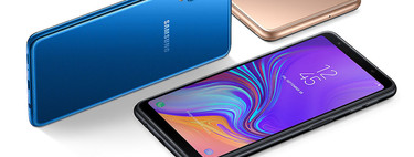 50 euros de descuento y envío gratis en el nuevo Samsung Galaxy A7 (2018) con triple cámara