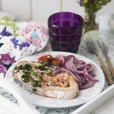Salmón en papillote con cilantro: receta fácil y ligera para disfrutar cuidándose