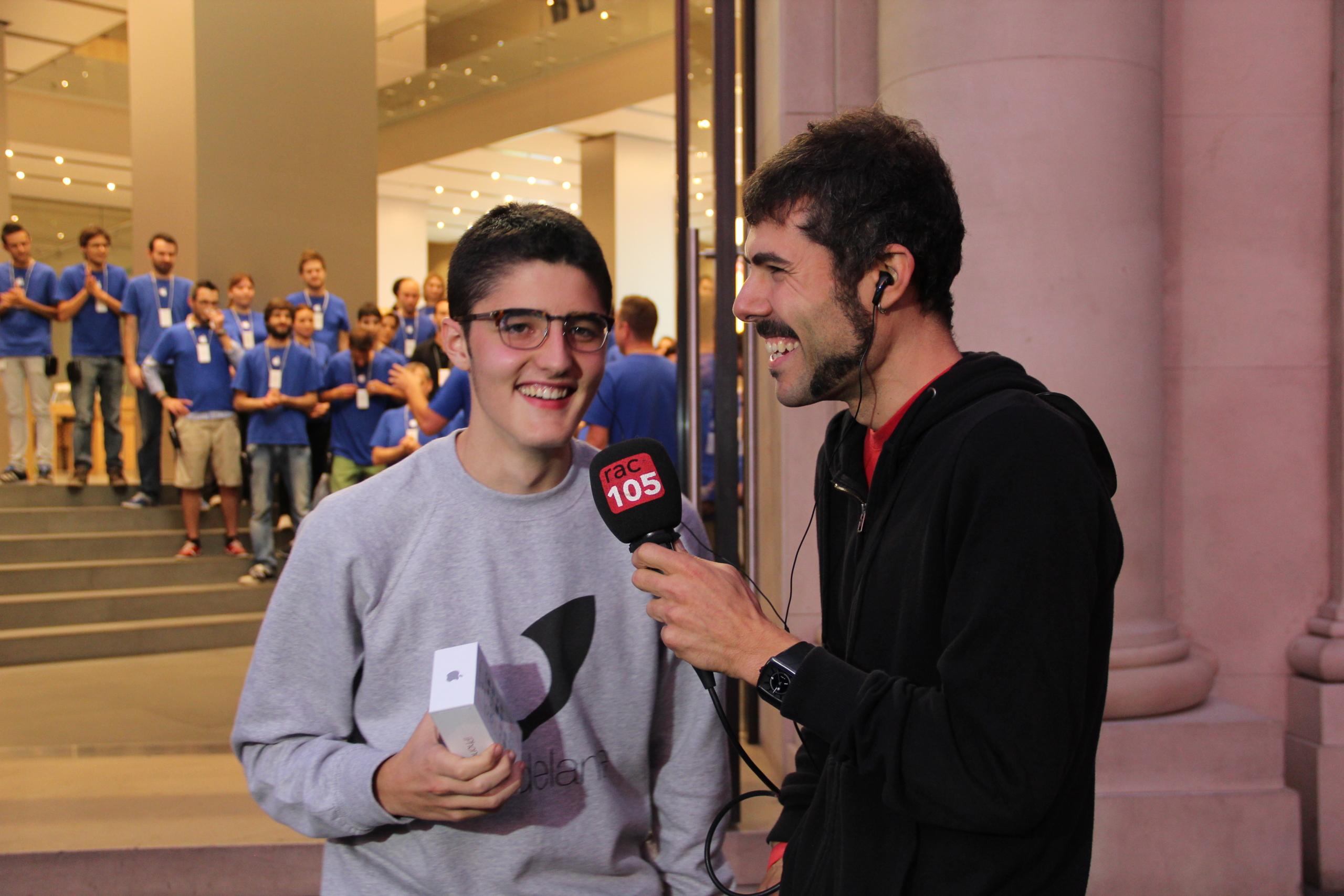 Foto de Lanzamiento de los iPhone 5s y 5c en Barcelona (12/17)