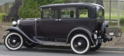 1929 Ford modelo A, el compañero más fiel