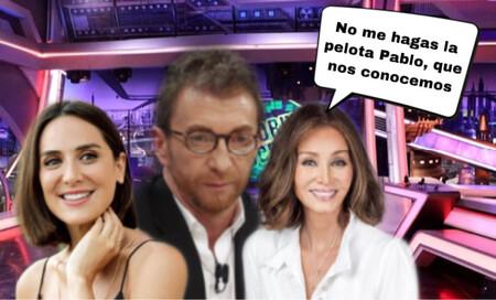 La Preysler está de morros, Pablo Motos mete la pata y Tamará Falcó está a puntito de quedarse castigada sin merienda ¡Porfa mami, perdóname!
