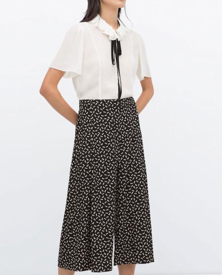 Pantalones Cropped Zara Rebajas