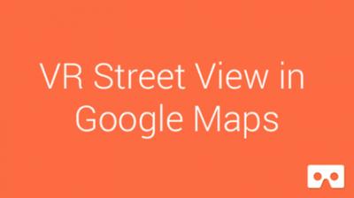 Google Cardboard obtiene Street View