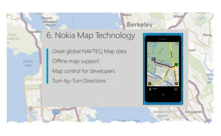 Windows Phone 8 usará el motor de mapas de Nokia