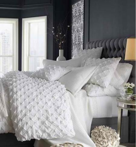Dormitorio Blanco Gris