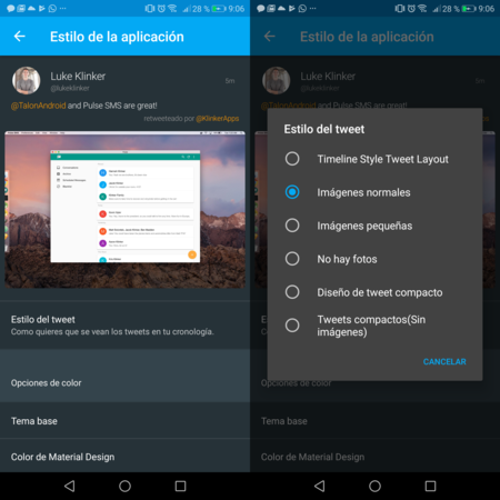 Talon 7.0 Android