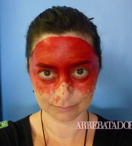 Maquillaje De Halloween Maquillaje De Diabla - Como-maquillar-a-una-diabla