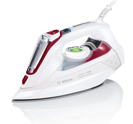 Oferta flash en la plancha de vapor Bosch TDI902839 W: su precio es de 74,90 euros hasta medianoche en Amazon