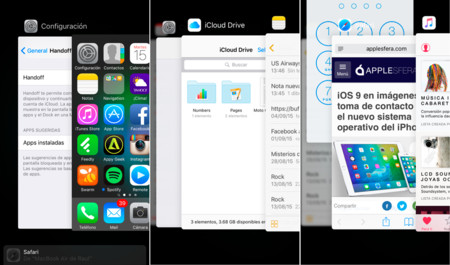 Ios 9 Multitarea Handoff