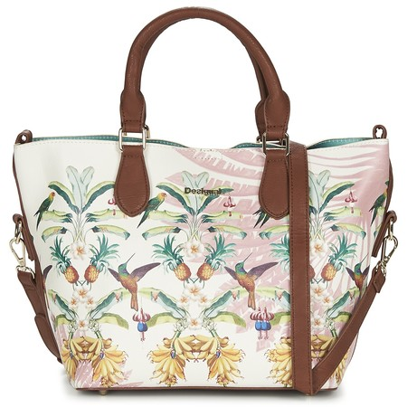 El bolso de mano Desigual Florida Tropicalicious está a la venta por 45,45€ en Zalando: ¡Un 35% de descuento!