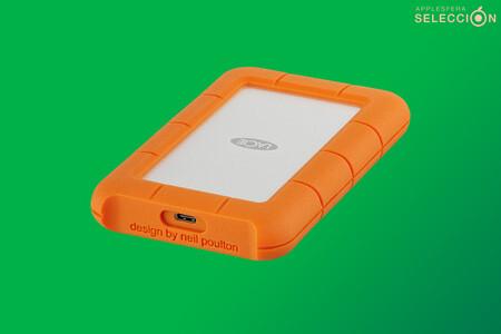 El resistente disco duro portátil LaCie Rugged USB-C de 4 TB está a su precio mínimo histórico en Amazon, por 127,49 euros