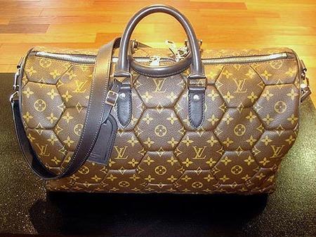 LV soccer bag