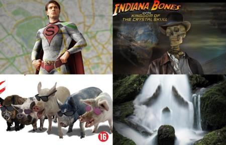 20 carteles parodian películas cambiando una sola letra del título; la imagen de la semana
