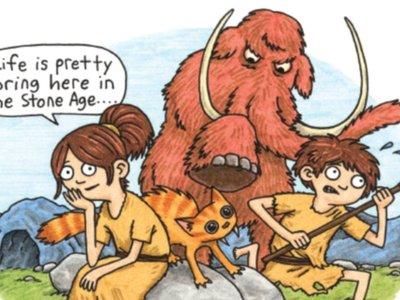 'Lucy y Andy Neandertal': un Jeffrey Brown didáctico