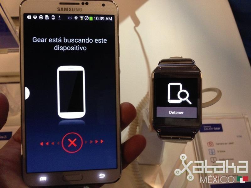 Foto de Samsung Galaxy Gear en México (12/12)