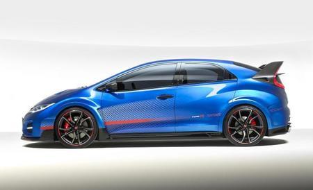 Honda Civic Type R Concept: el relevo estará en París